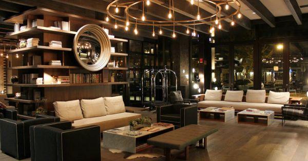 Thompson chicago hotel best boutique hotel lobby design for Top boutique hotels in chicago