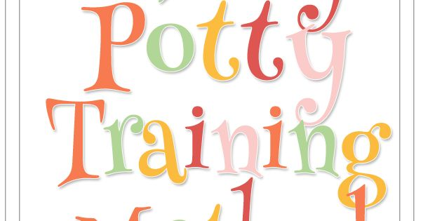 Great resource if you're trying the 3 Day Potty Training Method with