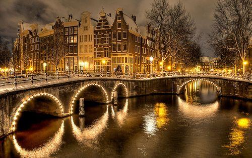 Amsterdam, Netherlands. Put it on the bucket list