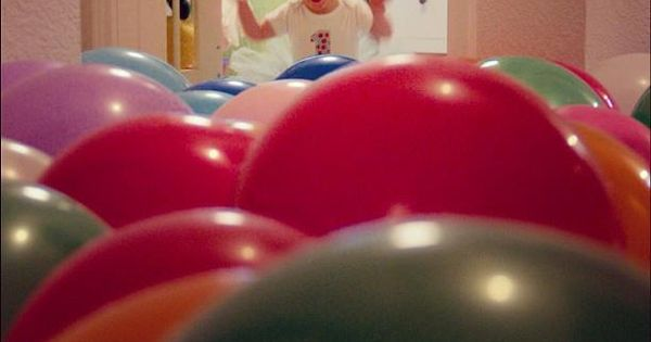 a room full of balloons ... happy birthday! ( I love the