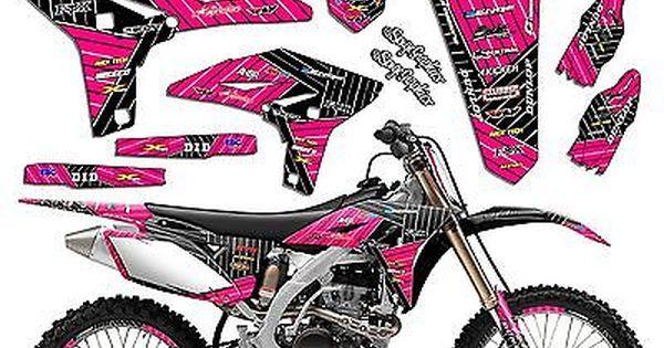2000 2001 2002 2003 2004 2005 2006 2007 Ttr 125 Graphics Kit Yamaha Ttr125 Deco Custom Baggers Motocross Gear Girl Stickers