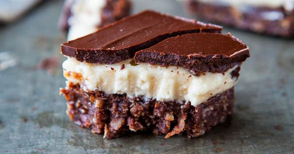 No Bake Nanaimo Bars by loveveggiesandyoga NanaimoBars