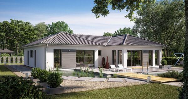 bungalow marseille m rensch haus gmbh h user pinterest fertigh user h uschen und. Black Bedroom Furniture Sets. Home Design Ideas
