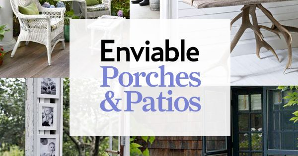 Patio and porch decor ideas