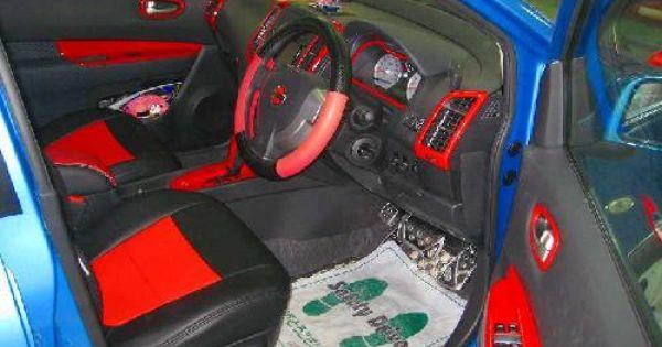 日産ウィングロード 内装塗装 オーバーフェンダー取付け シートカバー