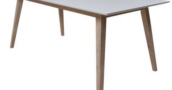James Spisebord Inkl 2 Tillaegsplader Spisebord