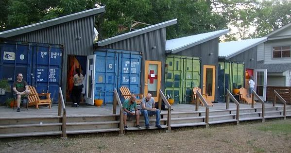 Independence Art Studios - I love this use of shipping containers with