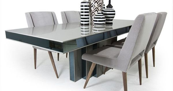our art deco dining table has an amazing architectural quality to it rh bagoesteak com