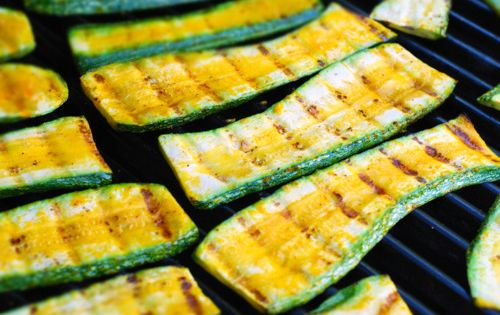 grilled summer squash | Veg Life: Main Dishes | Pinterest | Grilled ...