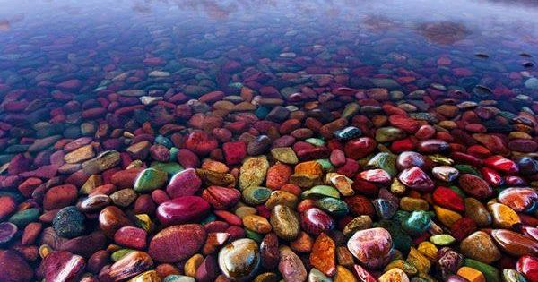 One of the most beautiful places. Pebble Shore Lake in Glacier National Park, Montana, United States. Bucket list for sure. :)