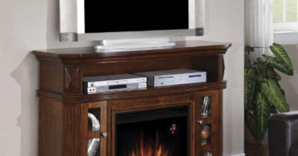 Furniture Stores In Williston Nd Bellemeade Walnut Fireplace Entertainment Center | Fireplaces ...