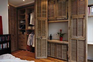 Persiennes Anciennes Portes Dressing Home Decor Bedroom Adventure Room Home