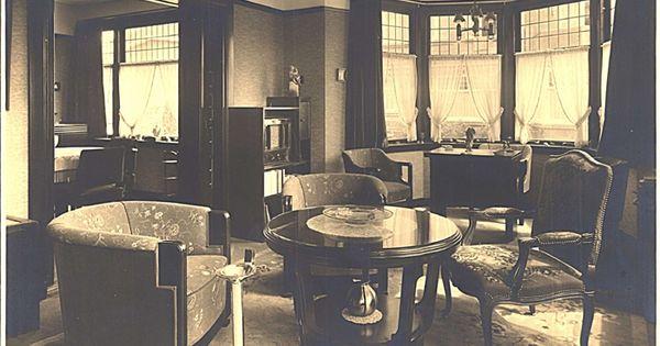 Ca 1935 interieur philips woning kijken op de boschdijk eindhoven 30er jaren pinterest - Deco design fabriek ...
