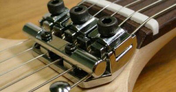 Install Locking Nut In Strat Move Bridge Guitar Building Guitar Accessories Guitar Design