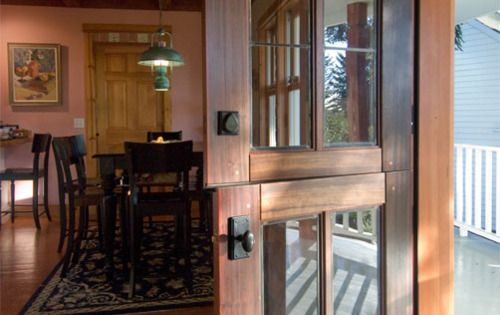 Every dream house should have at least one dutch door.