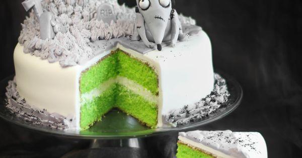 neon green cake!