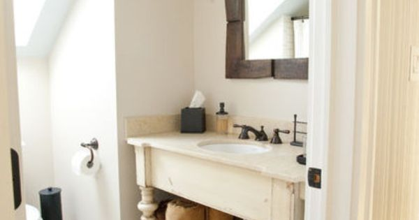 Turn an old piece of furniture into a vanity traditional for Roberts designs bathroom accessories