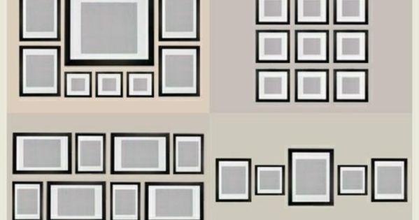fotowand selber machen ideen f r eine kreative wandgestaltung love it pinterest fotowand. Black Bedroom Furniture Sets. Home Design Ideas
