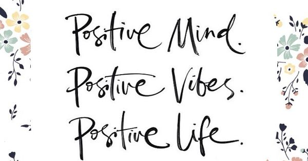 Stay Positive! Need help? Meditation will help!