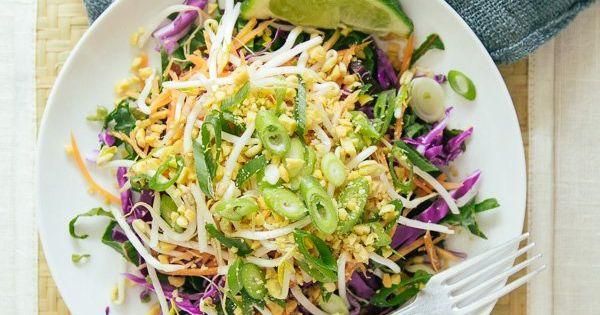 Pad Thai Salad | Recipe | Thai Salads, Salads and Couple