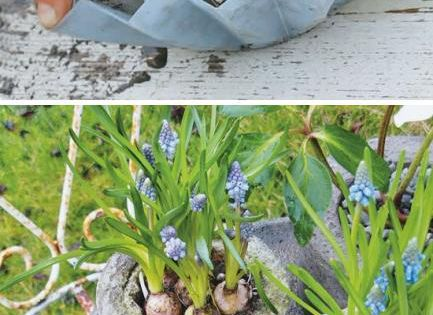 Concrete casting by joybx: something to try this summer with printed forms/molds
