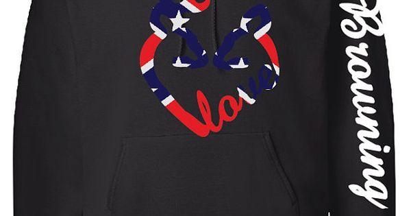 Love Logo Hoodie, Browning Down Sleeve, Camo Design $40 http://weardownjacket.blogspot.com/ Cannadagoose JACKETS is