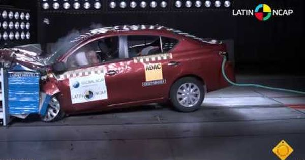 Nissan Versa Reduce Calificacion En Crash Test De Latin Ncap