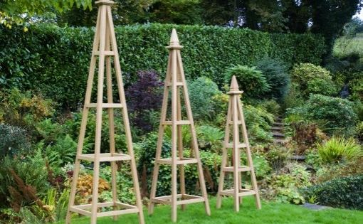 Wooden Obelisk Trellis Plans Diy Free Download How To 400 x 300