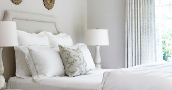 Guest room: Collection of small rounds sunburst mirrors | Courtney Giles Interior
