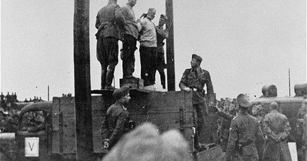 Mosche Kogan & Wolf Kieper execution, Zhitomir,Aug. 1941 ...