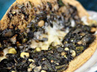 Receta De Quesadillas De Huitlacoche Comida Vegetariana Recetas Faciles Huitlacoche Receta Recetas Mexicanas