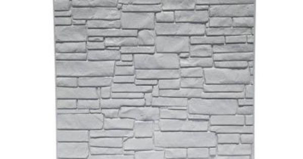 SimTek 6 Ft. X 6 Ft. Gray Polyethylene Privacy Fence Panel