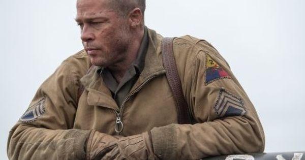 Brad Pitt Fury Sac Modeli Erkek Sac Kesimleri Uzun Sacli Erkek