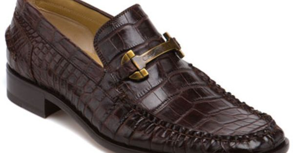 Caporicci Alligator Loafer Will You Please Wear This Honey