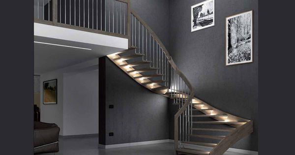 Scale con illuminazione led segnapasso led scale - Scale interne design ...
