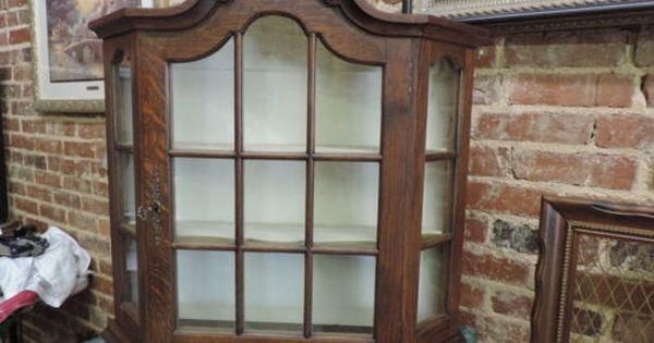 Curio Cabinet In 2020 Antique Curio Cabinet Wall Curio Cabinet Cabinet