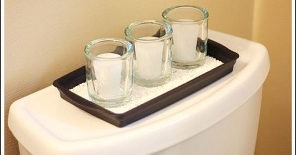 Bathroom decorating ideas to help you create your own for Bathroom decor with candles