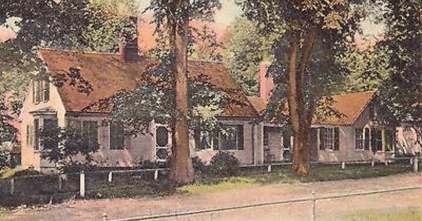 Home Of Jacob Abbott Farmington Me Maine Vintage Postcard View More On The Link Farmington National Register Of Historic Places Franklin County