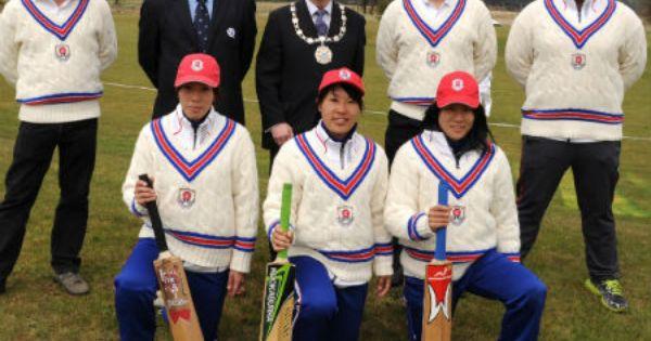 Stirling Council Provost S Blog 20 April 2013 Cricket Teams Japanese Men Helping Kids