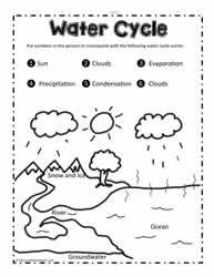 Label the Water Cycle | Water cycle, Water cycle for kids ...