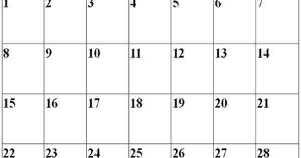 Download February 2015 Calendar Printable Template & Design. Blank ...