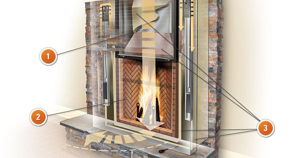 Rumford fireplace incl tech notes fireplaces and wood for Rumford fireplace kits