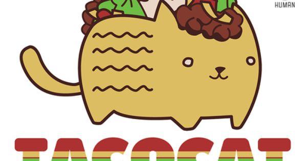 Gallery For Cute Chibi Japanese Food Taco Cat Iphone Wallpaper Kawaii Cat Wallpaper
