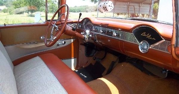 Picture Of 1956 Chevrolet Bel Air Interior Chevrolet Bel Air Chevrolet 1956 Chevy Bel Air