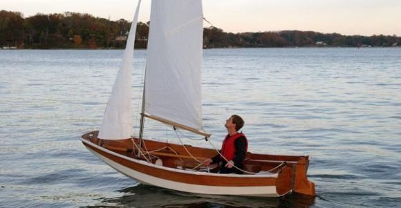 Fast-sailing, Ultra-light Take-Apart Dinghy That You Can Build! | Daysailers | Pinterest ...