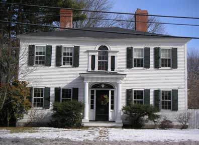 Andover Historic Preservation Andover S Architectural Styles Colonial House Exteriors House Styles Palladian Window