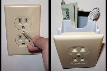 Hidden Wall Safe Electrical Outlet These Unique Wall Safes Allow You To Hide Valuables Inside One Of Many Identical Hide Money Wall Safe Secret Hiding Places