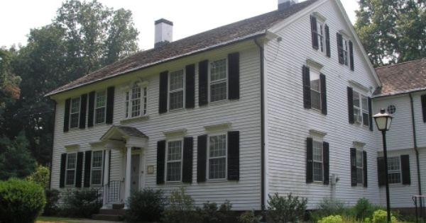 Georgian Colonial Kellogg Eddy House Newington Connecticut 1808 Colonial House House Styles Georgian Homes