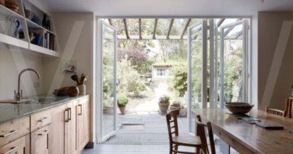 Gallery kitchen ideas victorian terrace and cabinetry for Terrace kitchen garden