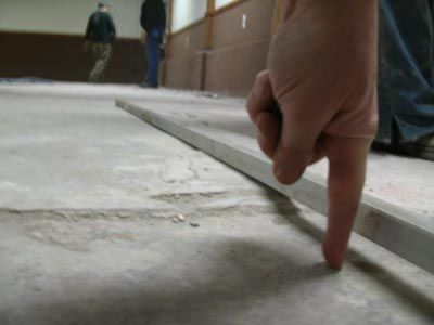 How Can I Prepare Uneven Concrete Floor For Vinyl Planks